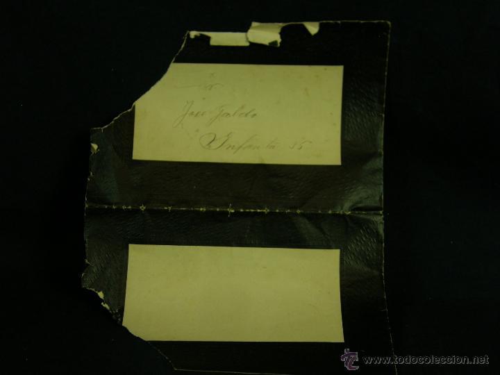 Coleccionismo: esquela EPD ha fallecido después de recibir los santos Sacramentos HAbana Cuba agosto 1907 - Foto 2 - 44797797