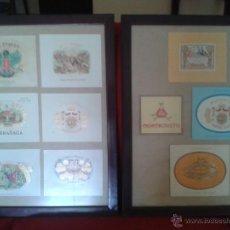 Coleccionismo: ESPECIAL COLECCION DE VITOLAS ORIGINAL DE TABACOS CUBANOS ENMARCADAS.. Lote 44852073