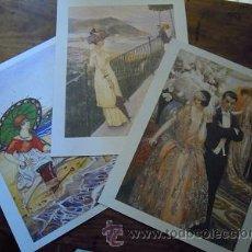 Coleccionismo: JOYAS DE BLANCO Y NEGRO. 3 LÁMINAS. COLECCIÓN ABC. Lote 44876279