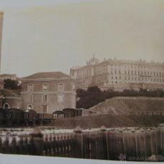 Collezionismo: ESTACION NORTE MADRID AÑO 1864 - PUENTE LOS FRANCESES AÑO 1861 - VER INT.- RENFE FERROCARRIL. Lote 44920266