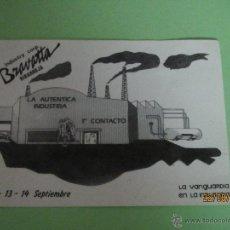 Collectionnisme: AMIGOS DE DISCOTECA BRAVATTA RIBARROJA 1 CONTACTO LA VANGUARDIA DE LA INDUSTRIA - AÑO 1980-90S.. Lote 44998233