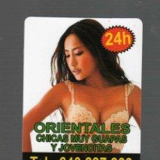 Coleccionismo: TARJETA PUBLICITARIA CASA DE CITAS EN BARCELONA . Lote 45031298