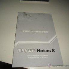 Coleccionismo: G-58 LIBRO MANUAL DE USUARIO THRUSTMASTER T.FLIGHT HOTAS X. Lote 45061575