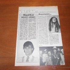 Coleccionismo: RECORTE MIGUEL BOSÉ 1980. Lote 45169227