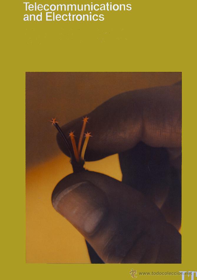 FOLLETO DE ITT CON FOTO (DE 1928) DE INAUGURACIÓN DEL SERVICIO TELEFÓNICO ENTRE ESPAÑA Y USA (Coleccionismo - Laminas, Programas y Otros Documentos)