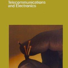 Coleccionismo: FOLLETO DE ITT CON FOTO (DE 1928) DE INAUGURACIÓN DEL SERVICIO TELEFÓNICO ENTRE ESPAÑA Y USA. Lote 45230072
