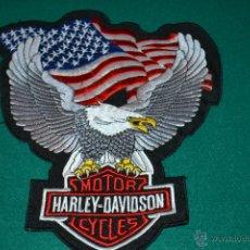 Coleccionismo: PARCHE BORDADO MOTOR HARLEY-DAVIDSON. Lote 45232285
