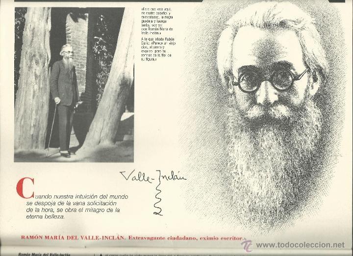 Coleccionismo: ALMANAQUE CULTURAL CON RETRATOS Y BIOGRAFIA DE GRANDES AUTORES NUEVO 1988 - Foto 2 - 45327688