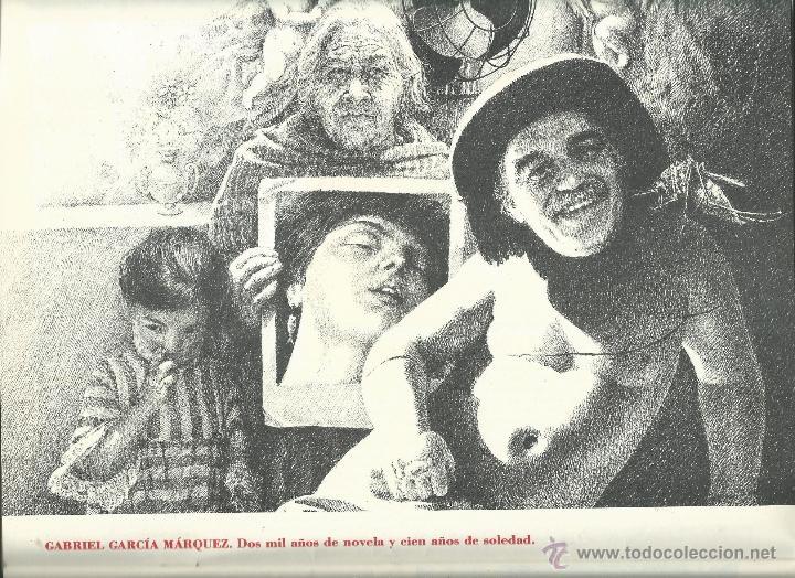 Coleccionismo: ALMANAQUE CULTURAL CON RETRATOS Y BIOGRAFIA DE GRANDES AUTORES NUEVO 1988 - Foto 4 - 45327688