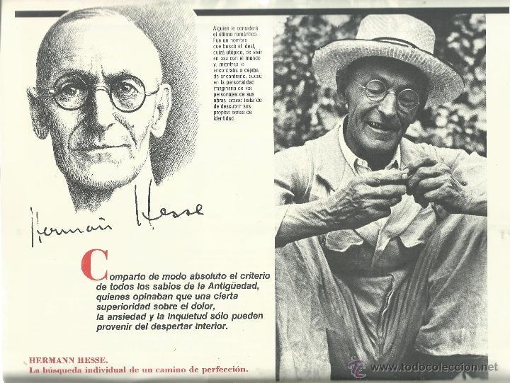 Coleccionismo: ALMANAQUE CULTURAL CON RETRATOS Y BIOGRAFIA DE GRANDES AUTORES NUEVO 1988 - Foto 6 - 45327688