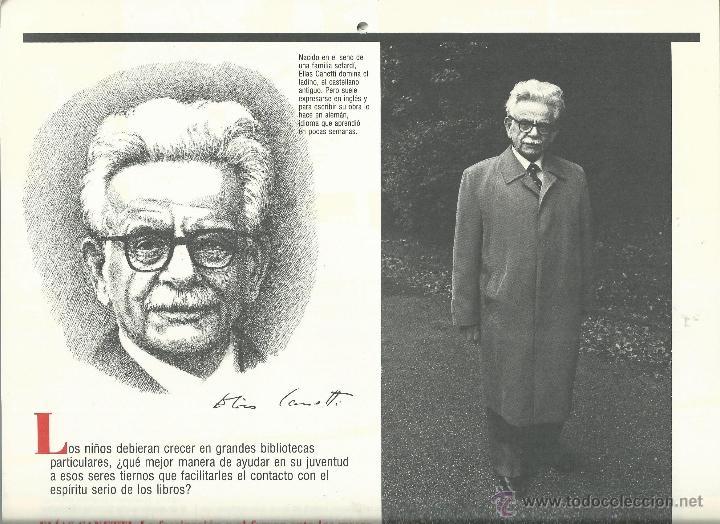 Coleccionismo: ALMANAQUE CULTURAL CON RETRATOS Y BIOGRAFIA DE GRANDES AUTORES NUEVO 1988 - Foto 22 - 45327688