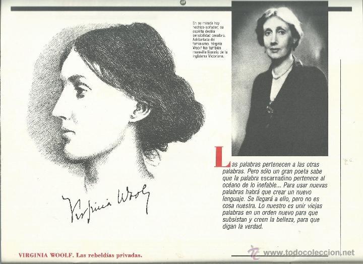 Coleccionismo: ALMANAQUE CULTURAL CON RETRATOS Y BIOGRAFIA DE GRANDES AUTORES NUEVO 1988 - Foto 25 - 45327688