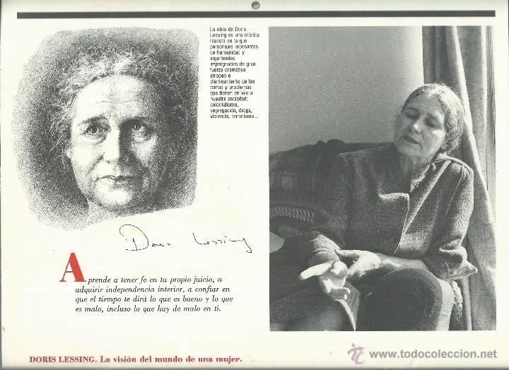 Coleccionismo: ALMANAQUE CULTURAL CON RETRATOS Y BIOGRAFIA DE GRANDES AUTORES NUEVO 1988 - Foto 26 - 45327688