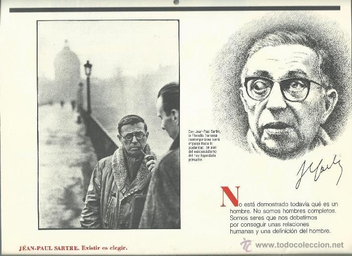Coleccionismo: ALMANAQUE CULTURAL CON RETRATOS Y BIOGRAFIA DE GRANDES AUTORES NUEVO 1988 - Foto 28 - 45327688
