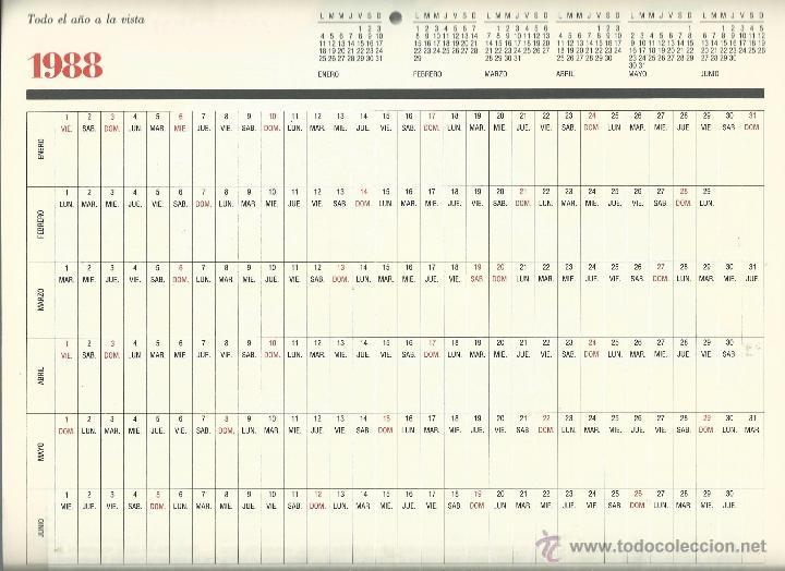Coleccionismo: ALMANAQUE CULTURAL CON RETRATOS Y BIOGRAFIA DE GRANDES AUTORES NUEVO 1988 - Foto 30 - 45327688