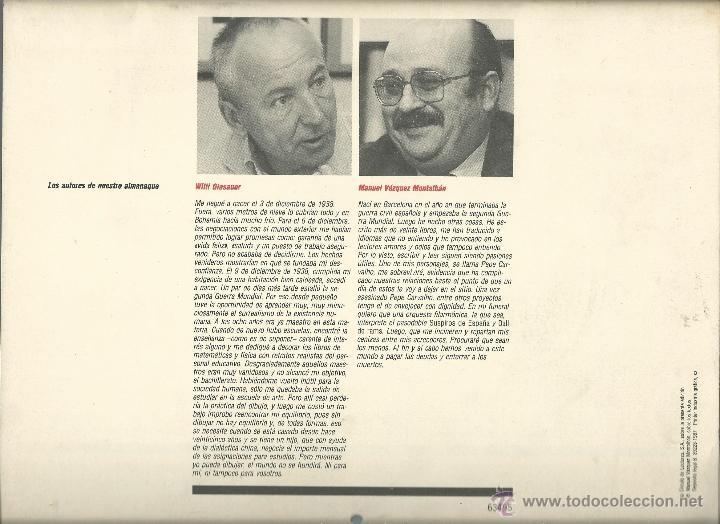Coleccionismo: ALMANAQUE CULTURAL CON RETRATOS Y BIOGRAFIA DE GRANDES AUTORES NUEVO 1988 - Foto 31 - 45327688