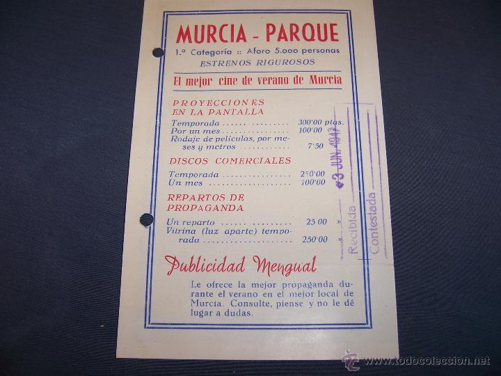 Murcia Parque El Mejor Cine De Verano De Murci Vendido En Venta Directa 45418820