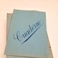 Coleccionismo: LOTE DE 25 CUADERNOS CUADROS AÑOS 60/70. Lote 62304195