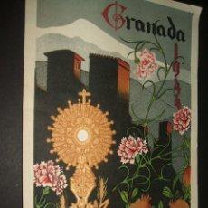 Sammelleidenschaft Papier - GRANADA PROGRAMA FIESTAS DEL CORPUS CHRISTI 1944 LITOGRAFIA L. VENTURA GRANADA - 45690944