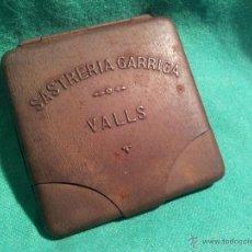 Coleccionismo: ANTIGUA Y RARA PITILLERA PUBICIDAD SASTRERIA GARRIGA VALLS. AÑOS 20 - 30. Lote 45933057