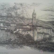 Coleccionismo: LAMINA DE ANTOÑANA SANTA CRUZ DE CAMPEZO ALAVA. Lote 46012031