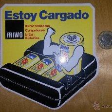 Coleccionismo: VIÑETA ADHESIVA DE PILAS. Lote 46031216