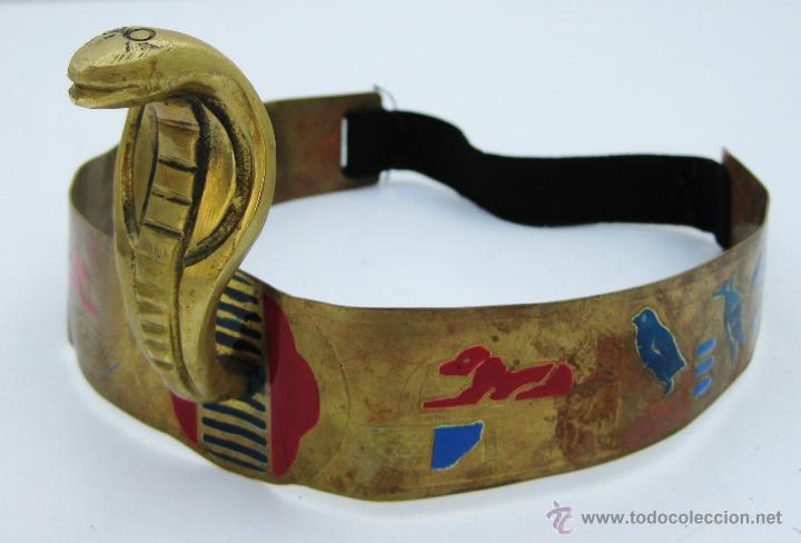 Corona bronce tama o real cobra egipcia cleopat comprar for Decoracion egipcia