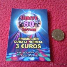 Coleccionismo - VALE TICKET DESCUENTO COPA PROMOCION CAFE BAR LIMITE 80 ECIJA SEVILLA. PARA COLECCION. - 46170026
