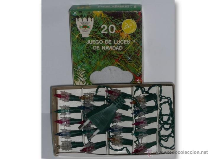 5a4b5951ea6 Adorno de navidad. 20 luces navideñas..años 80  - Vendido en Venta ...