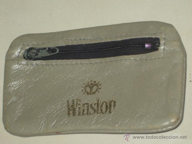 Coleccionismo: WINSTON ANTIGUA CARTERA PUBLICITARIA DE TABACO WINSTON. - Foto 2 - 46321720