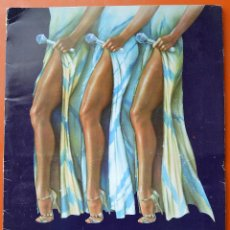 Coleccionismo: DREAMGIRLS - CARPETA DEL MUSICAL DE BROADWAY - PLAYBILL - 1981 - PROGRAMA - 1 POSTER - 3 POSTALES. Lote 46329373