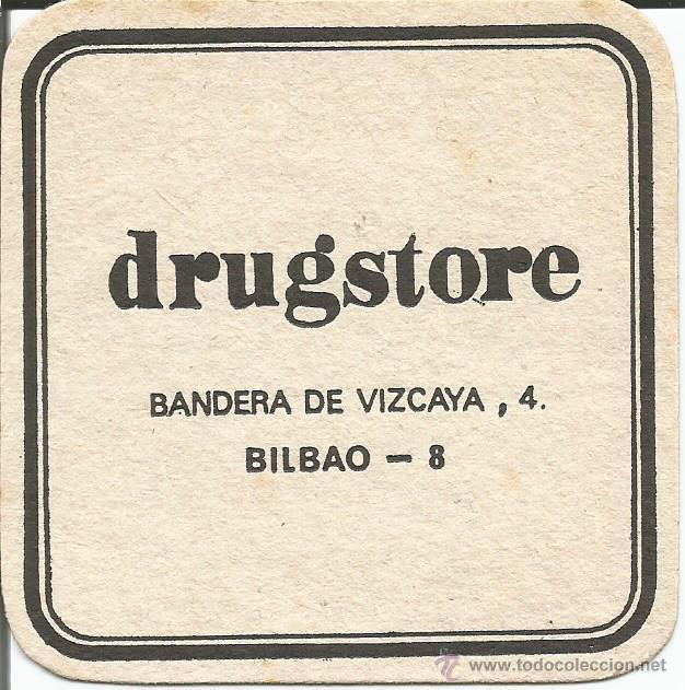 POSAVASO DRUGSTORE - BILBAO (Coleccionismo - Varios)