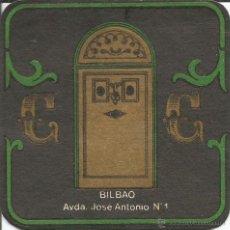 Coleccionismo: POSAVASO BILBAO. Lote 46345739