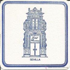Coleccionismo: POSAVASO HOTEL MACARENA - SEVILLA. Lote 46347260