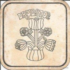 Coleccionismo: POSAVASO DRUGSTORE - BILBAO. Lote 46347397