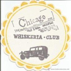 Coleccionismo: POSAVASO WHISKERIA CLUB - CHICAGO. Lote 46348644