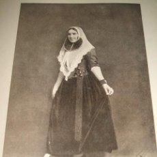 Coleccionismo: MALLORCA TRAJE MALLORQUIN LAMINA AÑOS 20. Lote 46392626
