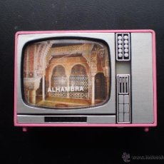 Coleccionismo: TELEVISOR. CON VISTAS DE LA ALHAMBRA. Lote 46492622