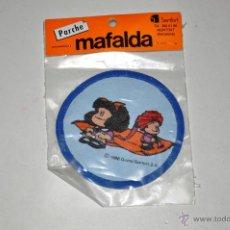 Coleccionismo: PARCHE PARA LA ROPA. MAFALDA. 1986. SENFORT. D*. Lote 46719443