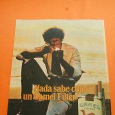 Coleccionismo: PUBLICIDAD 1979 - COLECCION TABACO - CAMEL. Lote 50110926