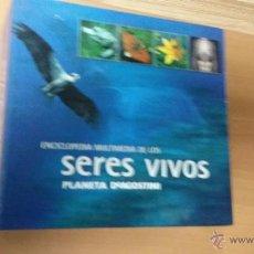Coleccionismo: ENCICLOPEDIA MULTIMEDIA DE LOS SERES VIVOS, DE PLANETA DEAGOSTINI. SON 14 CDS . Lote 46993934
