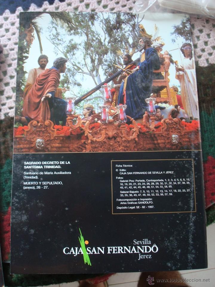 Coleccionismo: CRISTO EN SEVILLA. MONOGRÁFICO CAJA SAN FERNANDO AÑOS NOVENTA - Foto 2 - 47010459
