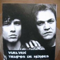 Coleccionismo: HEROES DEL SILENCIO. BUNBURY TRÍPTICO VUELVEN TIEMPOS DE HEROES. EL PAIS.. Lote 47186005