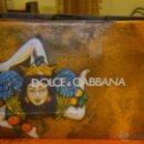 Coleccionismo: BOLSA DE PAPEL .DOLCE & GABBANA. BONITO DISEÑO.GRAN TAMAÑO. Lote 47191261
