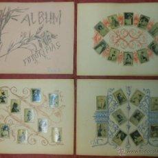 Coleccionismo: SERIE 3 ALBUM DE 75 FOTOTIPIAS DE CAJAS DE CERILLAS DE ACTRICES - COMPLETO CROMOS. Lote 47347705