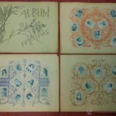Coleccionismo: SERIE 6 ALBUM DE 75 FOTOTIPIAS DE CAJAS DE CERILLAS DE ACTRICES - COMPLETO CROMOS. Lote 47347760