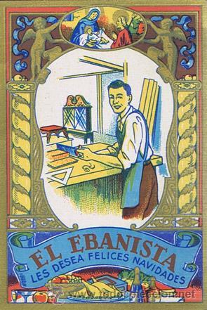 El ebanista les desea felices navidades bar comprar documentos antiguos en todocoleccion - Ebanistas en barcelona ...