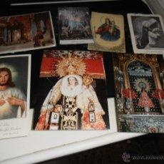 Coleccionismo: 7 JACULATORIAS, RECORDATORIOS DE AÑOS 1950, 1960 Y 1970. RELIGIÓN, SANTO TOMAS, CAPILLAS, PALMAR.... Lote 47429524