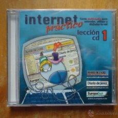 Coleccionismo: CD INTERNET , CURSO MULTIMEDIA LECCION CD 1 - PRECINTADO. Lote 47459365