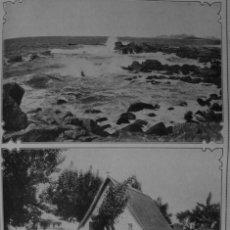 Coleccionismo: (1910-1919) PLAYA BAYONA - BARRACA VALENCIA - AVIADOR R. GARROS TRAVESIA MEDITERRANEO EN AEROPLANO. Lote 47576666